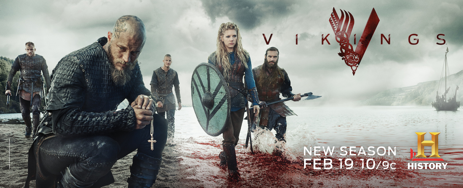 Vikings Season 3 premieres Feb 19 in America