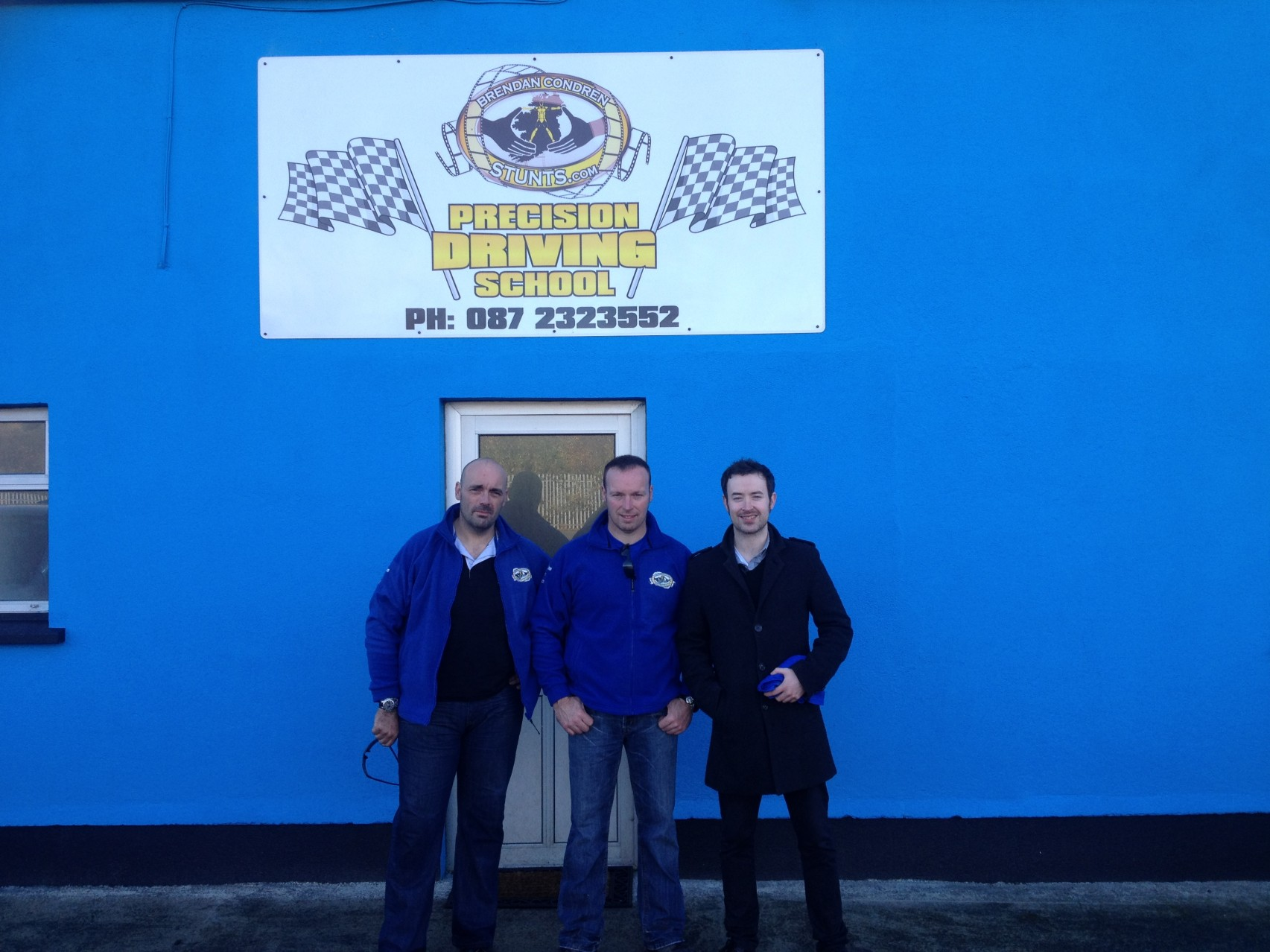 Precision Drving day with Paddy McKenna